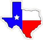 State of Texas Magnets